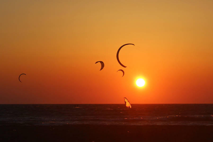 Rhodes kitesurfing and windsurfing - spots